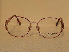 Carolina Herrera NY CH-1050/3418 Vintage 80's Womens Eyeglasses (JN40)