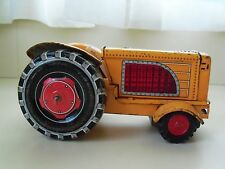 VINTAGE CRAGSTAN TOY - TRACTOR - FRICTION - TIN (MADE IN JAPAN)