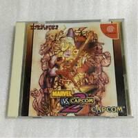 Sega DreamCast MARVEL VS CAPCOM 2 Japan DC F/S