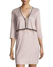 LA PERLA Blush Feline Chic Short Nightgown Sleepshirt Size XS NWT $424