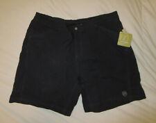 NWT NOVARA 2 in 1 CYCLING Womens Shorts PADDED BLACK Baggy Size Large