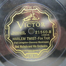 Red Nichols & His Orchestra - VICTOR 21560 - Harlem Twist