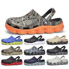 New Men Camouflage Flip Flops Sport Sandals Slingback Soft Bottom Anti-skidding