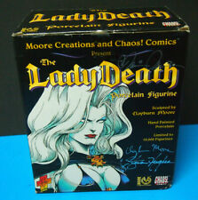 BRIAN PULIDO'S LADY DEATH BUST 1996 LIMITED TO 10,000 with COA SIGNED