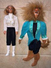 Vintage 1990's Transforming Ken Doll (Barbie) Prince/Beauty & The Beast Costume