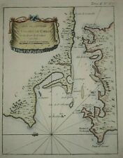 Chiloe old map Chile Chili 1764