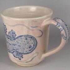Ym8 Crafts Mug Cup Japanese Salamander Amphibian Pottery ceramics Tableware