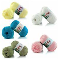 50 Gramm Sockenwolle Wolle Garn Handstrickgarn zum Stricken Häkeln Neu