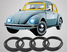 VW Bug Beetle Window Seal Kit 1965-1977 CAL LOOK RUBBER KIT EMPI S/B 4-PIECE SET