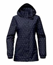 NWT NORTH FACE Resolve Parka Women's XL Urban Navy Uncharted Print MSRP $110