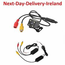 2.4Ghz Wireless Rear View Video Transmitter & Receiver + CCD Car Rearview Camera