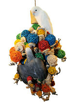 Parrot Toy Pet Bird Toy Ball Thing Monster
