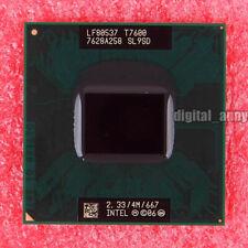 Intel Core 2 Duo T7600 2.33GHz Dual-Core SL9SD Socket M CPU Processor