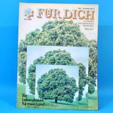 DDR FÜR DICH 15 1989 Memmingen Lößnitz Jugendweihe Marsflug Grube-Deister Mode