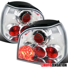 For 1993-1998 VW Golf III MK3 Chrome Clear Altezza LED Tail Lights Rear Lamps