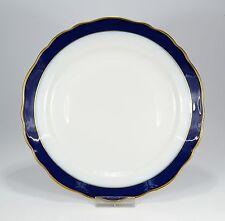 "Hutschenreuther ""Maria Theresia kobalt/gold"" Teller 19 cm."