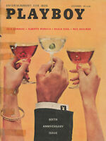 PLAYBOY DECEMBER 1959 6th Anniversary Issue Ellen Stratton Brigitte Bardot (6)