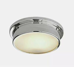 Argos Home Aviemore Frosted Glass Bathroom Light