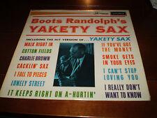 Yakety Sax,Boots Randolph Orignal 1963 Vinyl LP,Superb,Elvis Presley Saxophonist