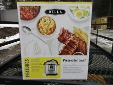 New, BELLA 8-Quart Programmable Electric Pressure Cooker