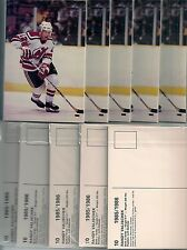 1985-86 New Jersey Devils Postcard Set Chico Resch Lot of 10 Sets