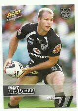 2008 NRL SELECT CHAMPIONS NZ WARRIORS GRANT ROVELLI #181 BASE CARD FREE POST