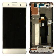 Pantalla Sony LCD completo con marco para Xperia xa f3111 f3112 blanco pieza de repuesto