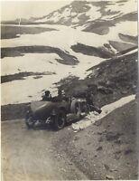 Francia Automobile da corsa Montagne Fotografia amatore Snapshot VintagePL10L4