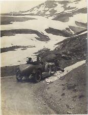 France Voiture de course Montagne Photographie amateur Snapshot VintagePL10L4