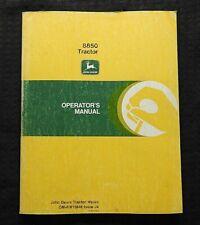 Genuine John Deere 8850 Tractor Operators Manual Very Good Shape