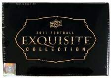 2011 Upper Deck Exquisite Football Factory Sealed 3 Box Hobby Case - 15 Autos