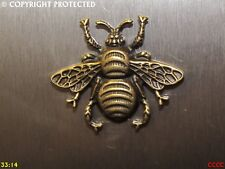 steampunk gothic bronze honey bumble bee fridge magnet Manchester