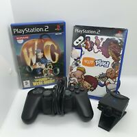 PlayStation 2 Eye Toy Camera And Games Bundle Tested And Working ps2 controller