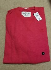 NWT Abercrombie & Fitch Boreas Mountain Thermal Crew Tee Red Medium