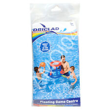 Driclad Inflatable Floating Game Centre, Shoot Basket Ball Ring, Ring Toss New