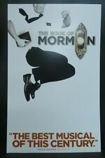 """The Book of Mormon Theater Broadway Window Card Poster 14"""" x 22"""""""
