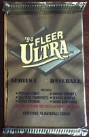 1994 Fleer Ultra Series 1 Baseball Card Pack