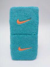 "Nike Swoosh Wristbands Lt. Retro/Bright Citrus 3"" Men's Women's"