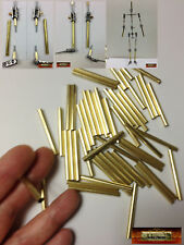 "M01129x5 MOREZMORE HPA 50 Cut 40 mm Brass Round Tube 5/32"" #8128 Leg Module"