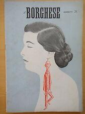 1954-IL BORGHESE-Direttore LEO LONGANESI-Anno V, Numero 26