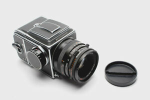 Hasselblad 500 CM + Zeiss Planar 100mm F3.5 CF + A12 magazine kit, very good