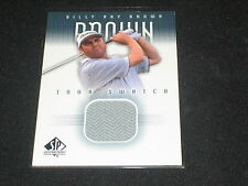 Billy Ray Brown Upper Deck Certified Authentic Event Worn Golf Shirt Card Rare
