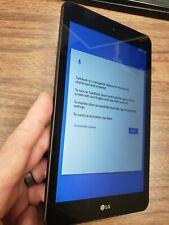 LG G Pad F2 LK460 8 in. 16GB Sprint 4G LTE Tablet (Black) READ!!!