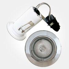 Eterna baja tensión Luz Empotrada antiincedios Cromo Pulido (50w DICROICO