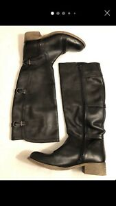 Laredoute Creations Wide knee High Boots 7