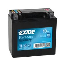 EXIDE EK131 AGM 12V 13AH Battery - Mercedes Benz A0009829308 Auxiliary Battery