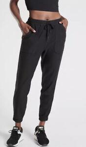 ATHLETA NWT Farallon Jogger Balck Size 2 #531090
