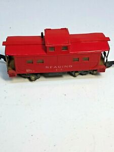 American Flyer # 630 Reading  Caboose in S Scale