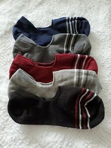Set Of 5 No Show Women's Socks Small