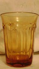 """8 - 4.5"""" Noritake Provincial Amber Tumblers"""